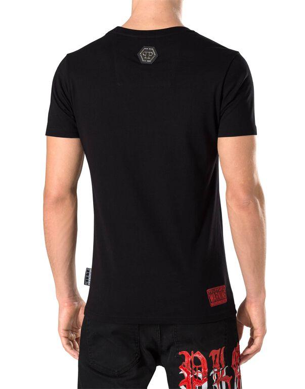 "T-shirt Round Neck SS ""Change -S"""