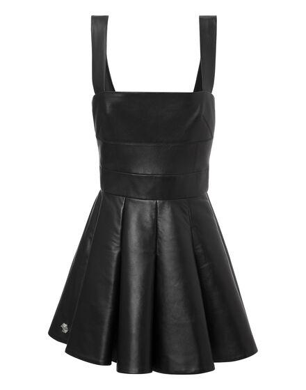 leather dress ennemy