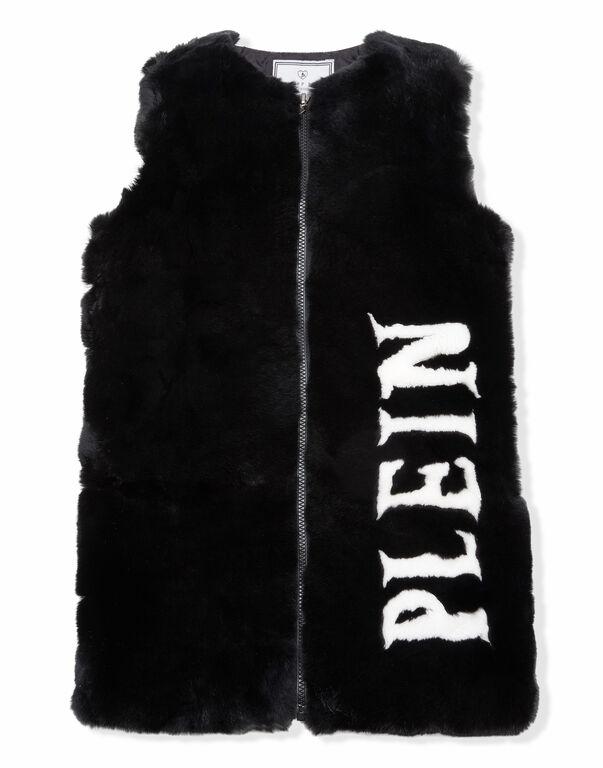 """Fur Vest Long """"Gorgeous"""""""