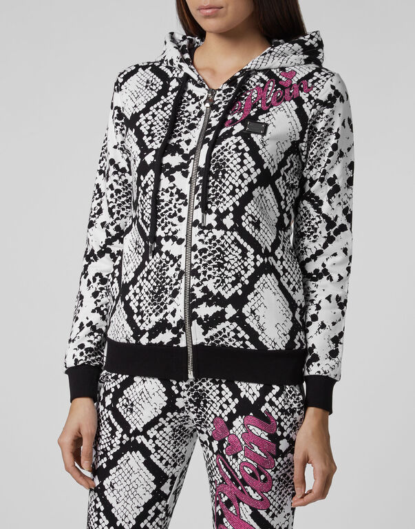 Hoodie Sweatjacket Python