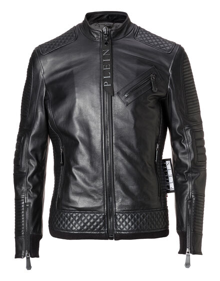 Leather Moto Jacket Odell