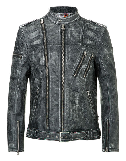 leather jacket armory
