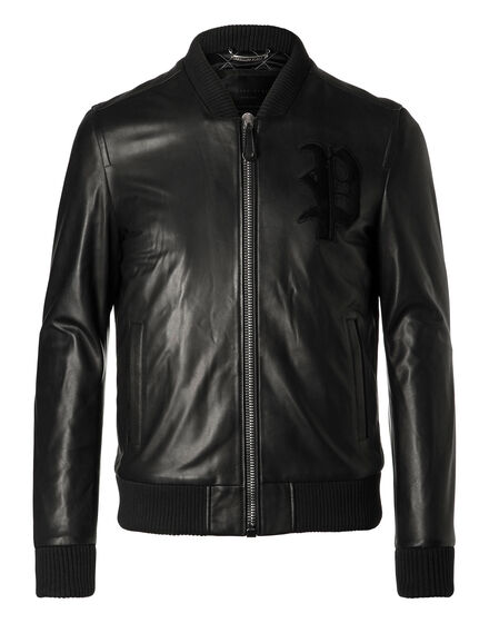 Leather Bomber Kondou
