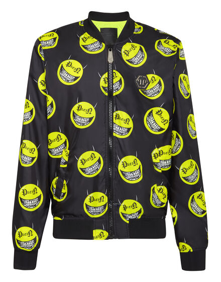 Nylon Jacket Evil Smile