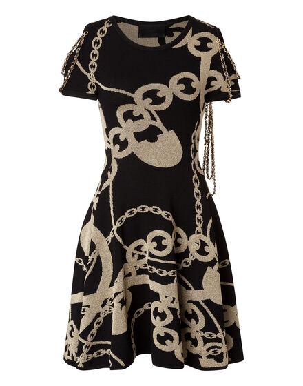 Knit Day Dress Madu