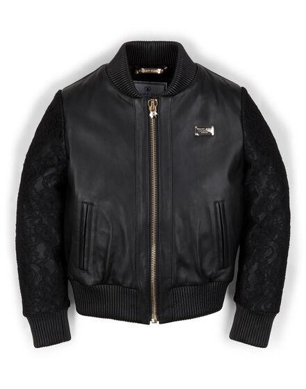 leather jacket rapunzel