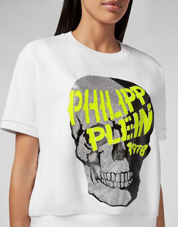 Sweatshirt SS Skull strass