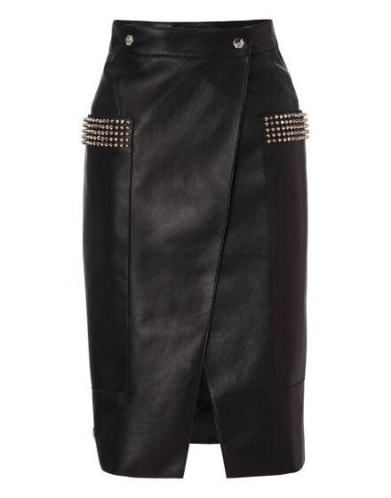 leather skirt runaway