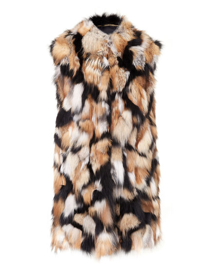 Fur Vest Long Aransas Pass