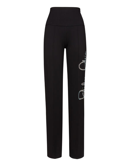 Long Trousers Flare crystal
