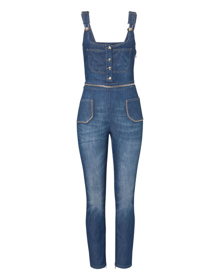 Denim Jumpsuit Fifth Avenue