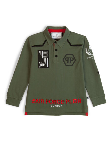 polo long sleeves polo class