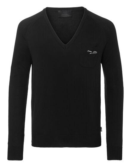 Pullover V-Neck LS Original