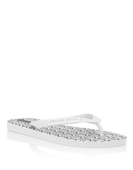 Sandals Flat All over Plein