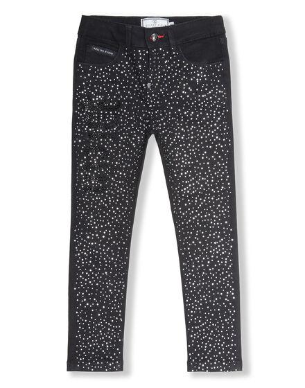 Denim Trousers Crystal