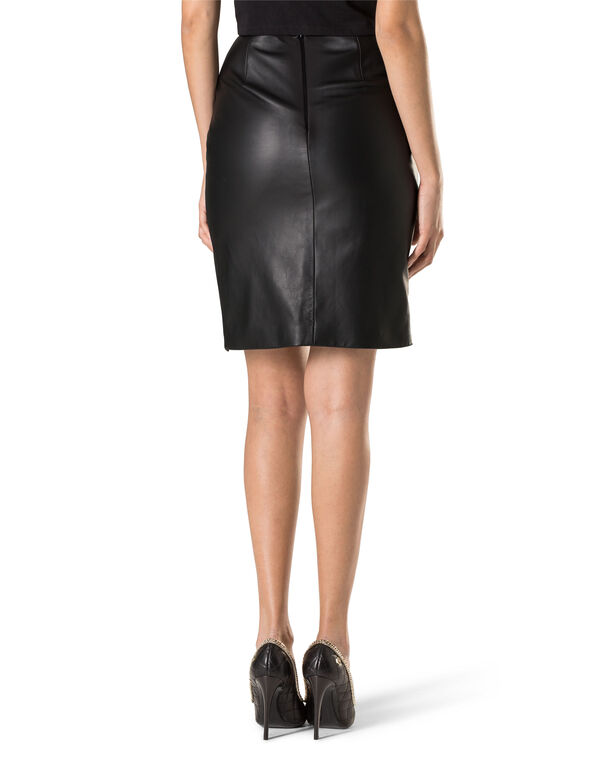 "Leather Skirt ""Bleecker Street"""