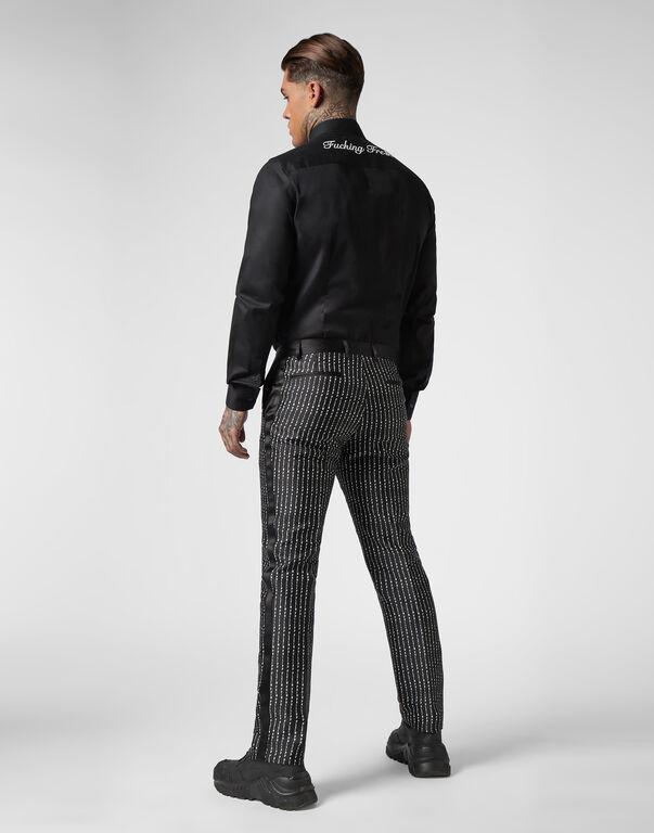 Suit 3 pcs  Pinstripe Plein
