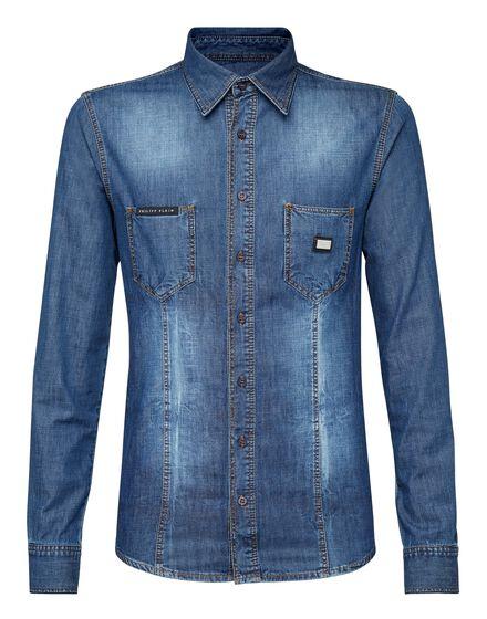 Denim Shirt Ls Fresh
