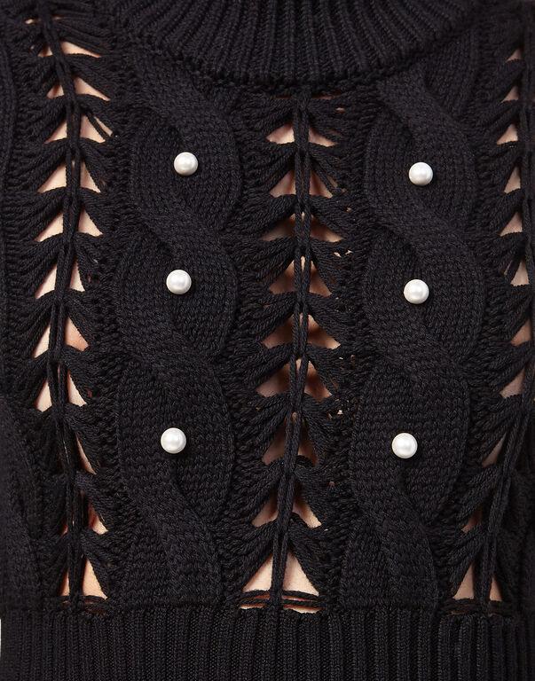 """Knit Day Dress """"Kiss Intess"""""""