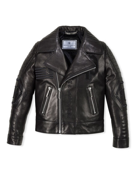 Leather Biker Black Evil
