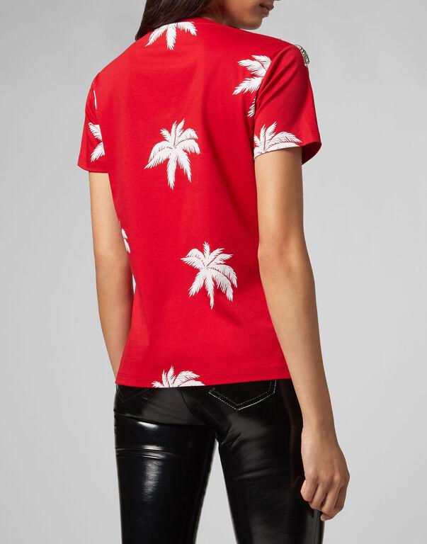 T-shirt Round Neck SS Aloha Plein
