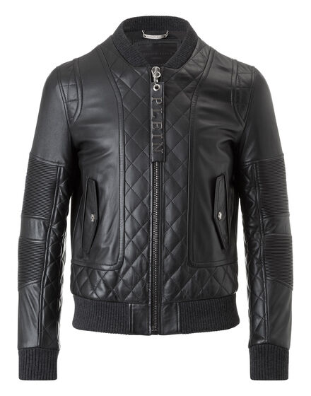 leather jacket wood king