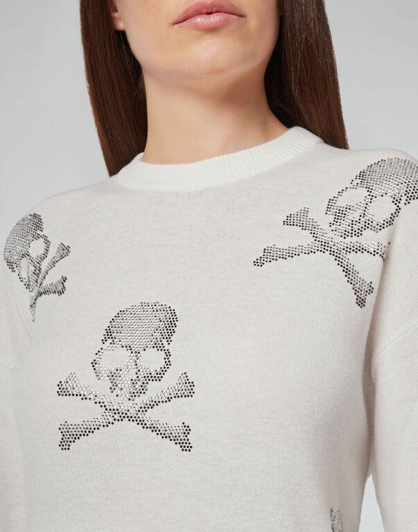 Knit dress Skull