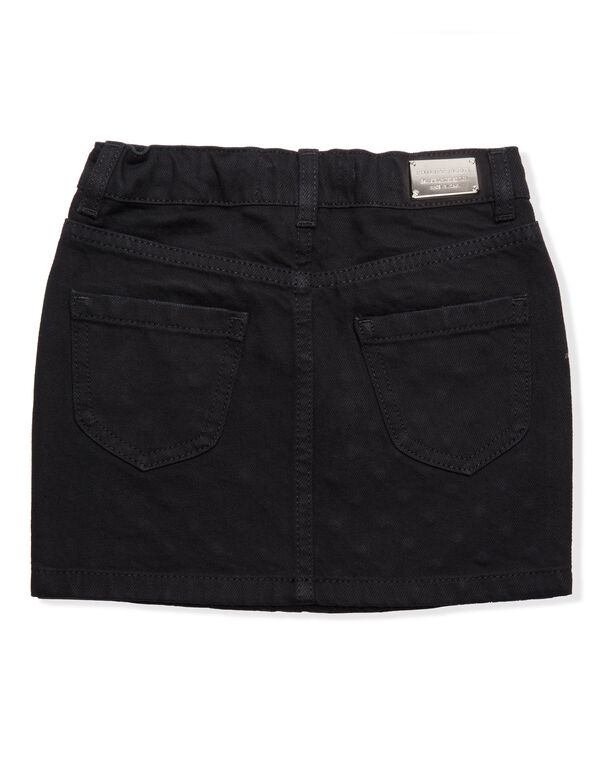 "Short Skirt ""Crystal Denim"""