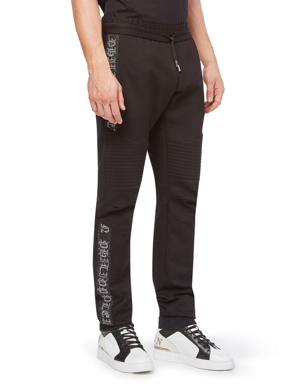 "Jogging Trousers ""Crystal stripes"""