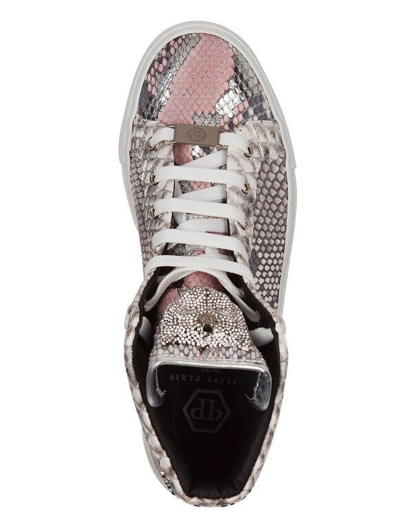 "Hi-Top Sneakers ""Rose star"""