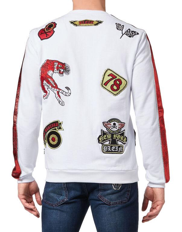 """Sweatshirt LS """"Patch me"""""""