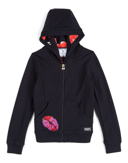 Jogging jacket Raspberry