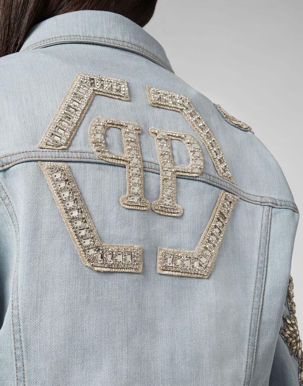 Denim Jacket Crystal