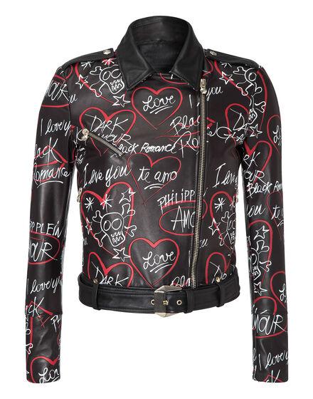 leather jacket mind soul body