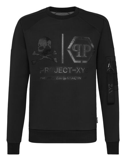 Sweatshirt LS XYZ Skull and Plein