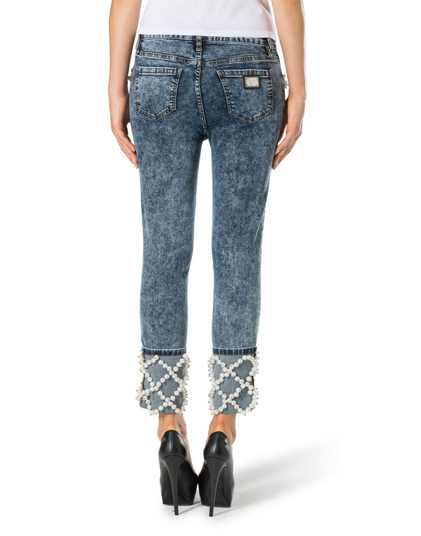 "High Waist Jegging ""Chicago Castons"""