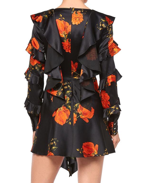 """Short Dress """"My Flower"""""""