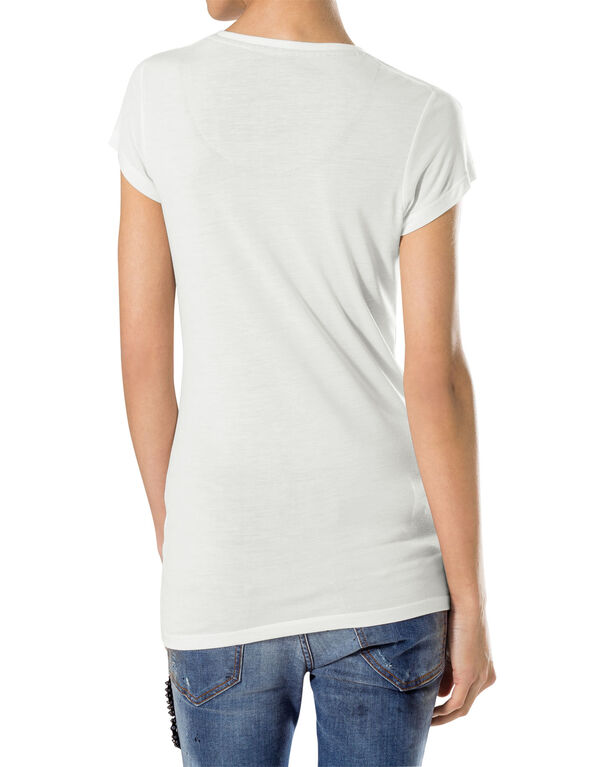 "t-shirt v-neck ""twice"""