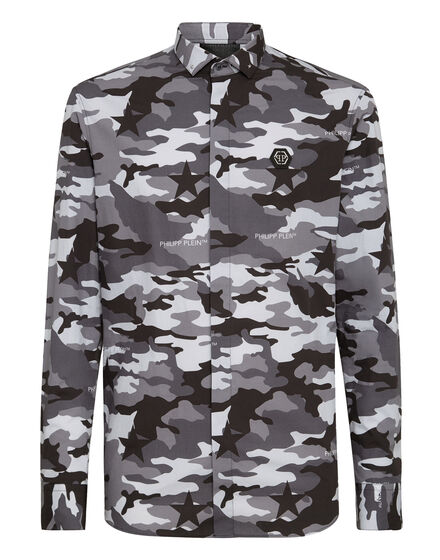 Shirt LS Camouflage
