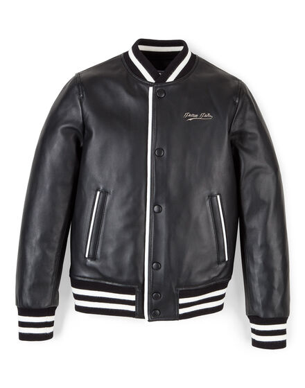 Leather bomber Cali