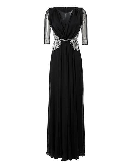 Evening Dress Crystal Mat