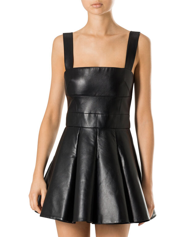 "leather dress ""ennemy"""