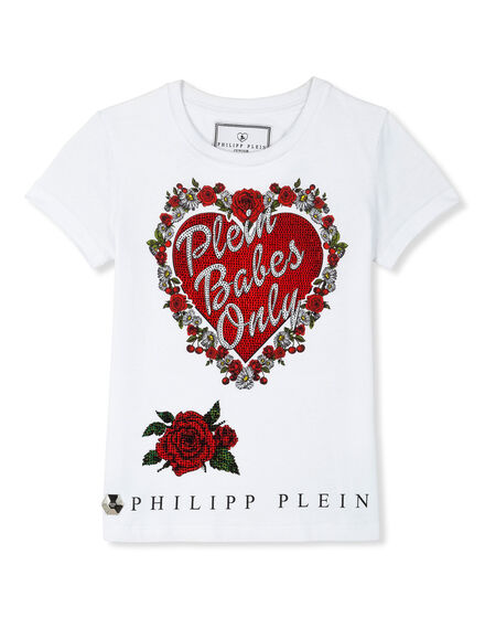T-shirt Round Neck SS Plein girls only