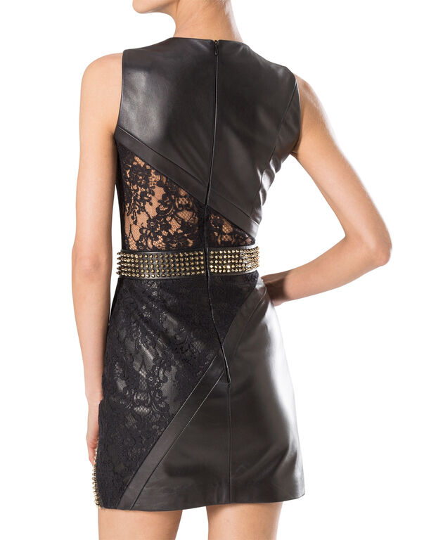 """leather dress """"part ready"""""""