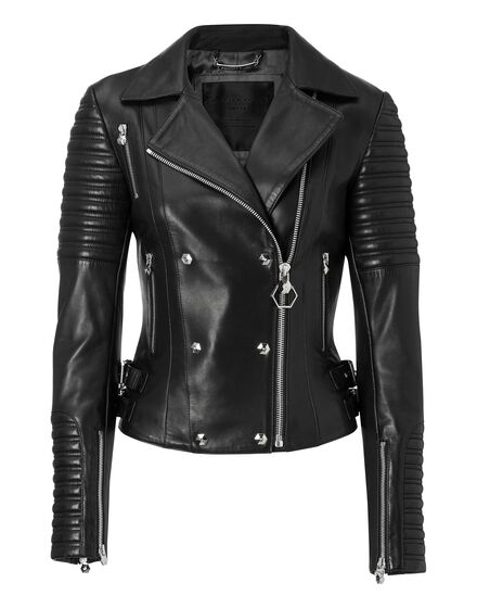 Leather Biker Candia Franco