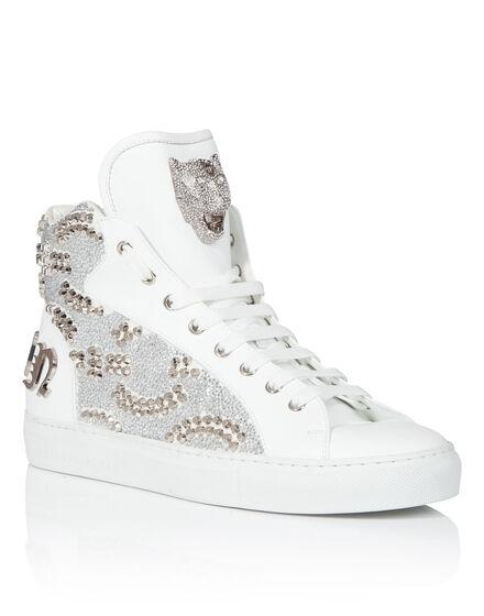 Hi-Top Sneakers Shiny studs