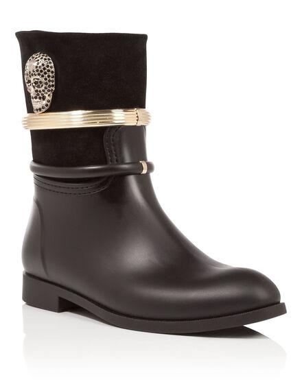 rain boots glam