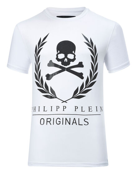 T-shirt Round Neck SS Golden