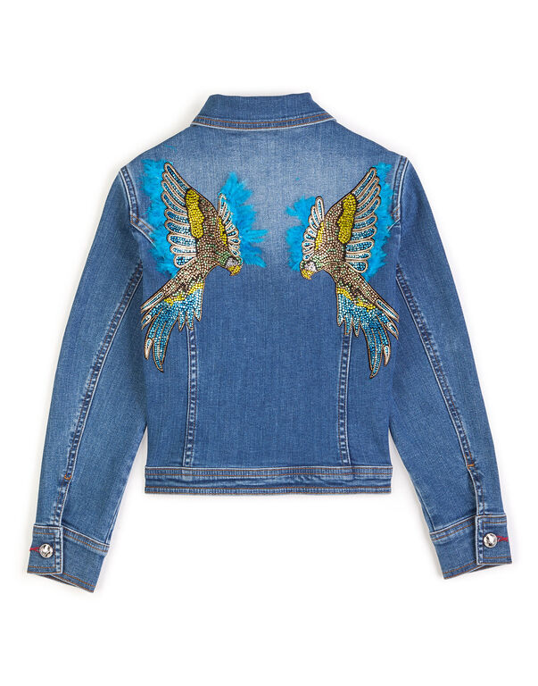 "Denim jacket ""Princess baby"""