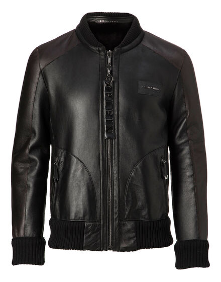 Leather Bomber Martin